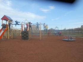 Наша детская игровая площадка