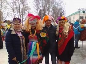 Приняли участие в «Параде Маслениц»